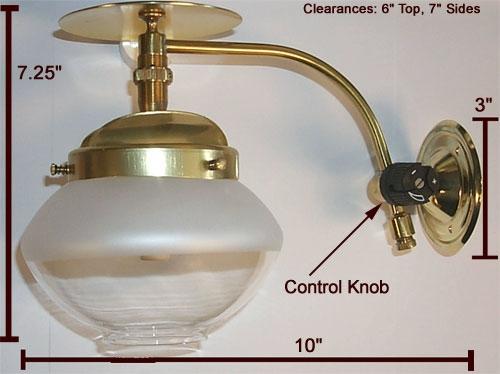 Falk 2705 Single Wall Gas Light