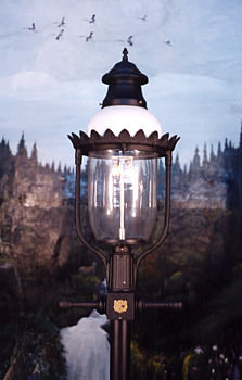 Glm Victorian Ii Outdoor Gas Yard Light