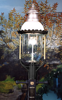 Glm Boulevard 36 Outdoor Gas Yard Light