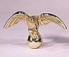 Large Brass Plated Eagle Finial (F02L)