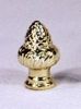 Brass Plated Acorn Finial (F84)